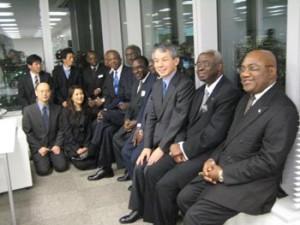 第1回AFDPアフリカ会議の様子
