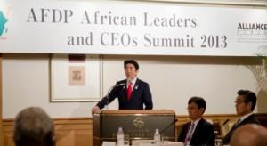 AFDPアフリカ首脳・経済人会議 安倍首相