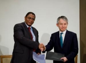 PTA銀行(東南アフリカ貿易開発銀行)との覚書調印
