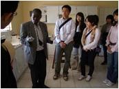 ケネス・カウンダ子供財団 小児科病棟・HIV病棟での様子
