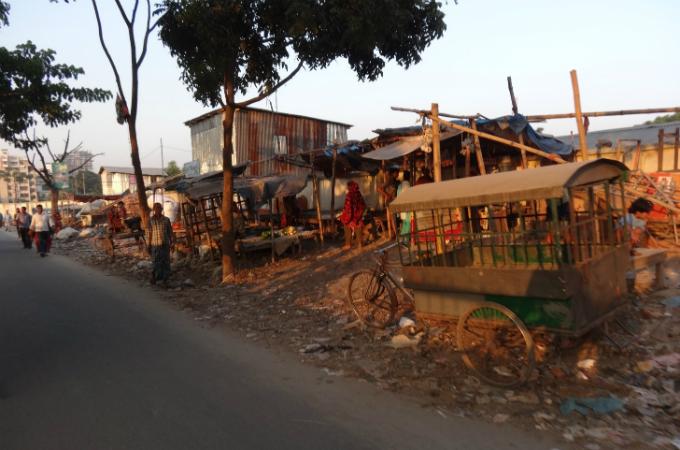 バングラデシュ_リキシャから見るスラム道