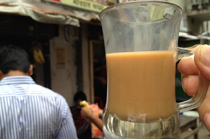 バングラデシュのチャー(紅茶)