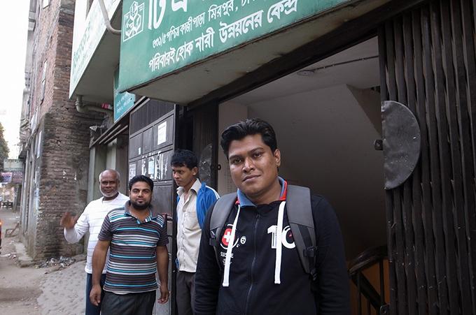 バングラデシュ事務所の新メンバー
