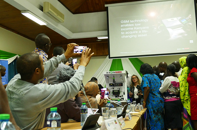 M-KOPAによる講義の様子