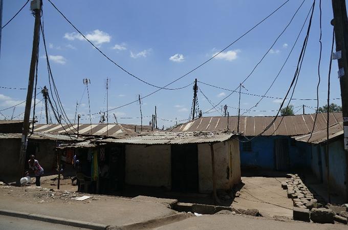 アフリカ最大規模のキベラスラム