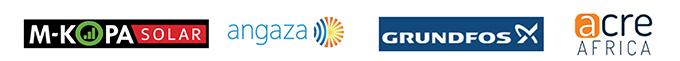 訪問企業4社のロゴ
